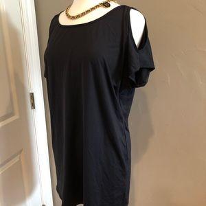 Michael Kors Cold-Shoulder Swim Cover-Up, Dress